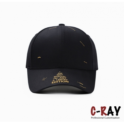 shiny embroidery special high quality baseball cap