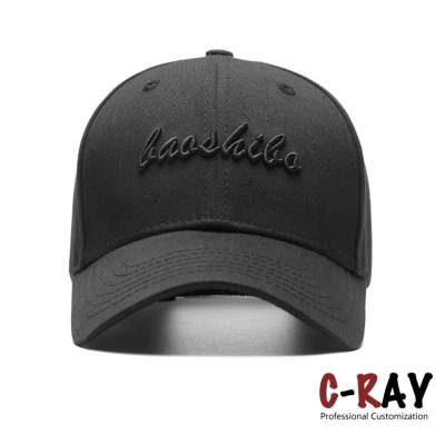 High quality custom made fashion structured baseball cap