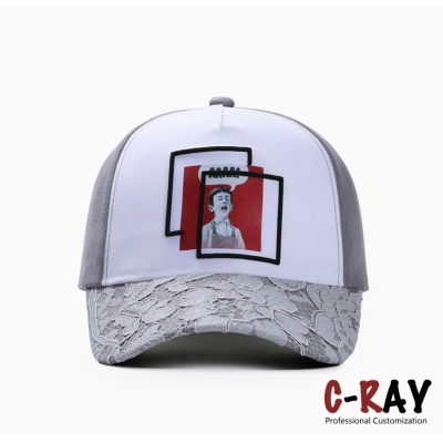 Summer season women style outdoor sports cap ladys baseball cap with size adjustable